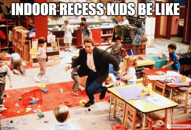 Click here if you're going through the dreaded indoor recess schedule this week! These funny teacher quotes on indoor recess will have you in stitches. ;)