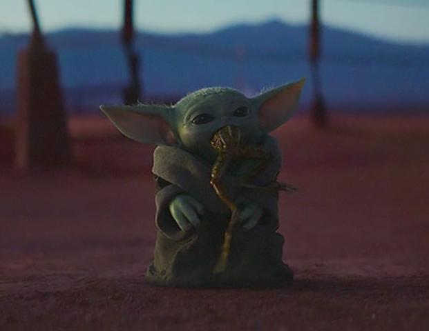 Baby Yoda Frog Blank Template Imgflip