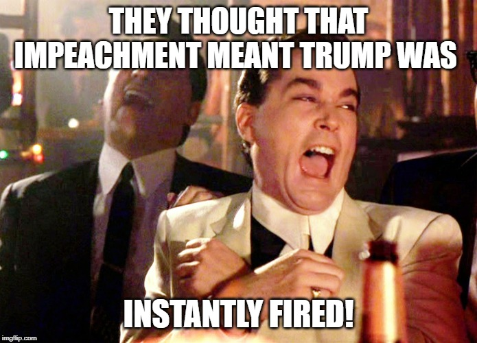 Image result for impeachment trial fail memes""