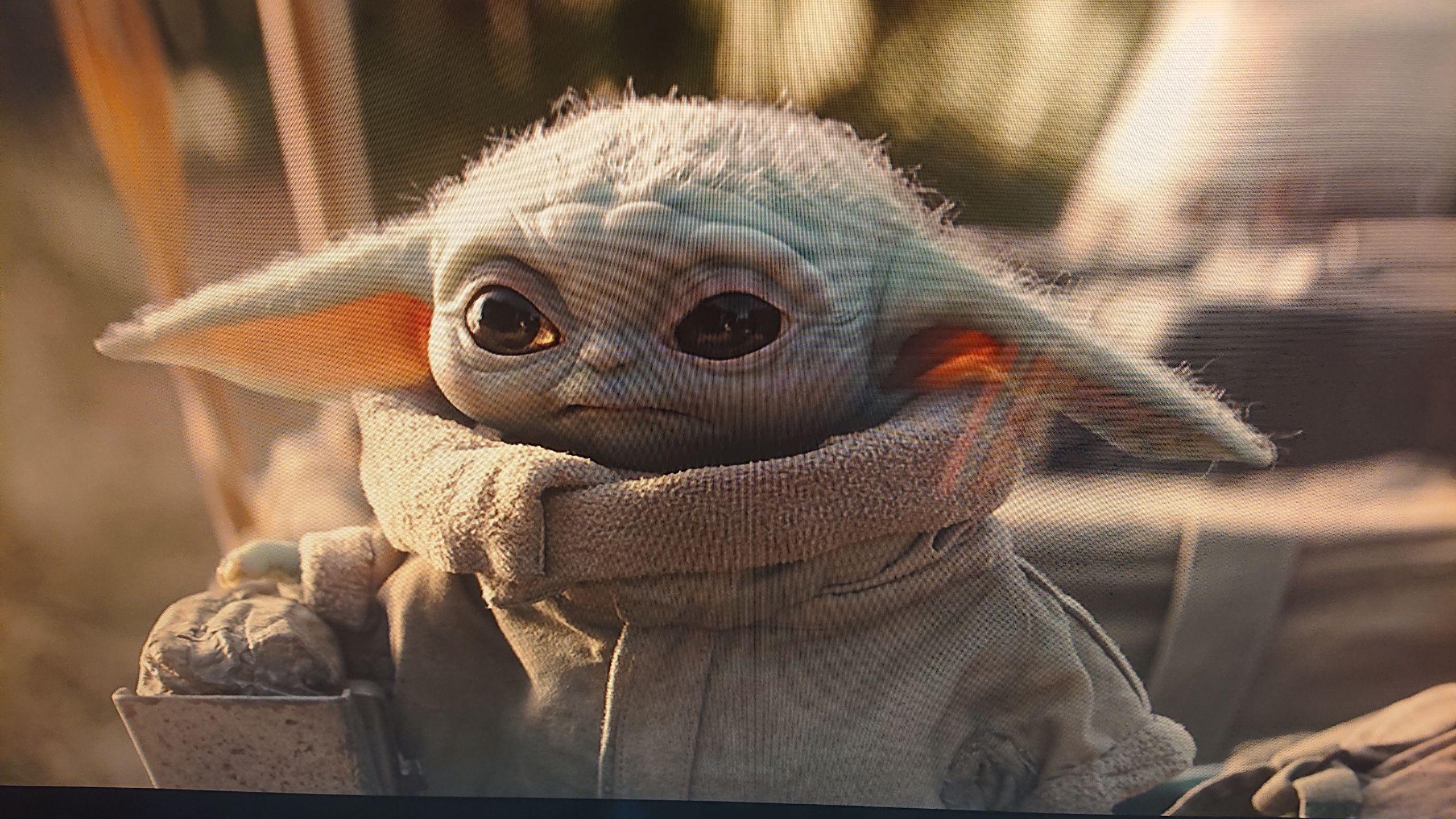 Baby Yoda Sad Blank Template Imgflip