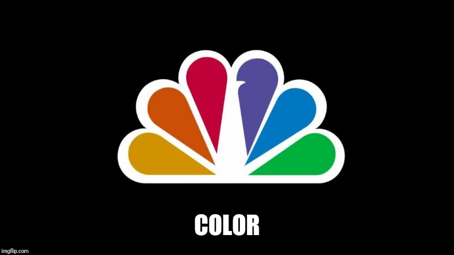 NBC | COLOR | image tagged in nbc | made w/ Imgflip meme maker