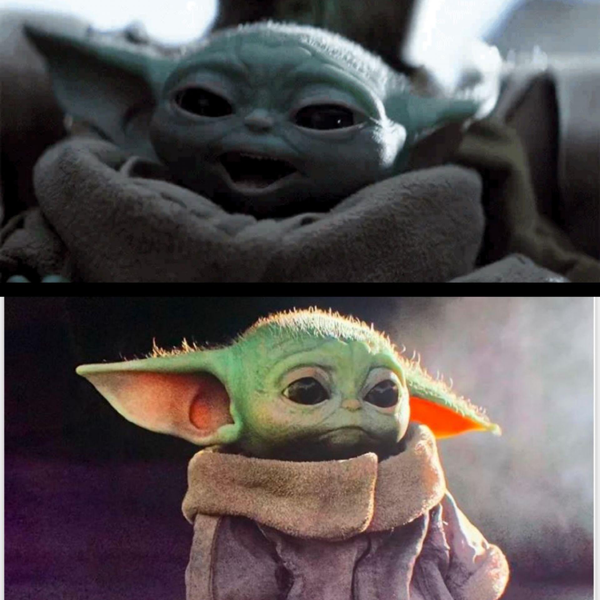 Happy Baby Yoda Vs Sad Baby Yoda Meme Generator Imgflip