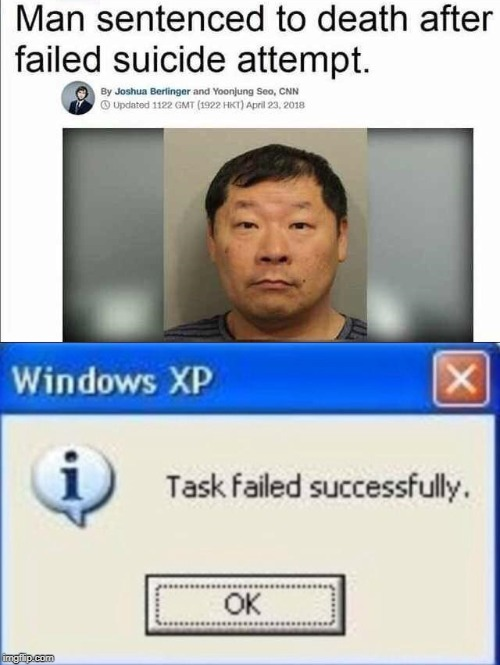 task failed successfully | image tagged in funny | made w/ Imgflip meme maker