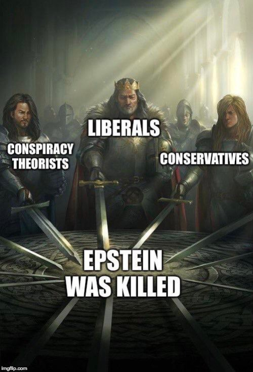 It was not a suicide. | image tagged in epstein | made w/ Imgflip meme maker