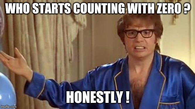 A leap year , but not a new decade yet | WHO STARTS COUNTING WITH ZERO ? HONESTLY ! | image tagged in memes,austin powers honestly,happy new year,quantum leap,got room for one more,day off | made w/ Imgflip meme maker