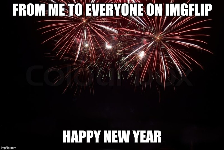 Happy New Year to all! | FROM ME TO EVERYONE ON IMGFLIP HAPPY NEW YEAR | image tagged in happy new year | made w/ Imgflip meme maker