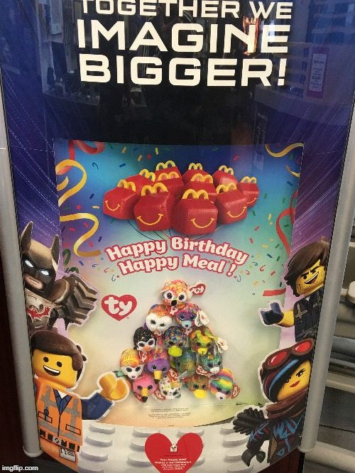 Cursed image from McDonald's | image tagged in the lego movie,mcdonalds,happy meal,lego,legos,cursed image | made w/ Imgflip meme maker