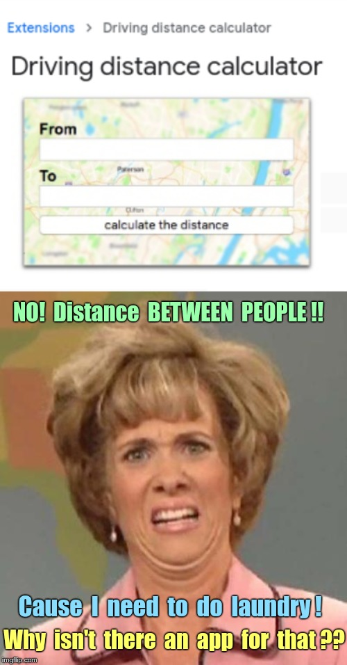 """Distance Calculator"" App? C'mon Apple and Google! Get your act together! 
