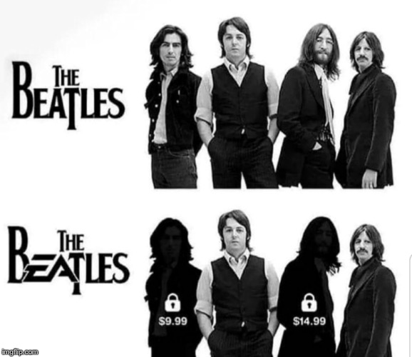 The Beatles | image tagged in the beatles | made w/ Imgflip meme maker
