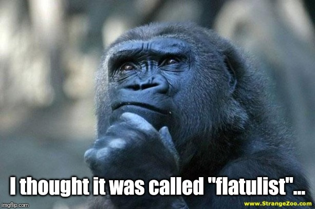 "Deep Thoughts | I thought it was called ""flatulist""... 