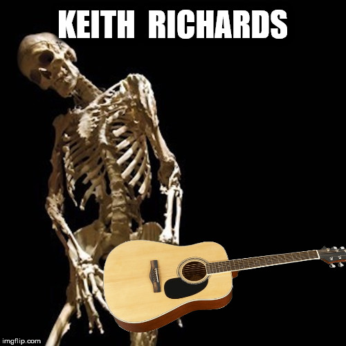 KEITH  RICHARDS | made w/ Imgflip meme maker