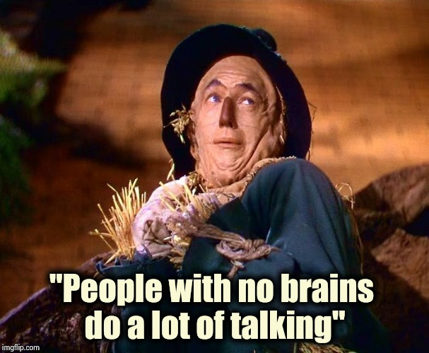 "Social Media in a nutshell | ""People with no brains  do a lot of talking"" 