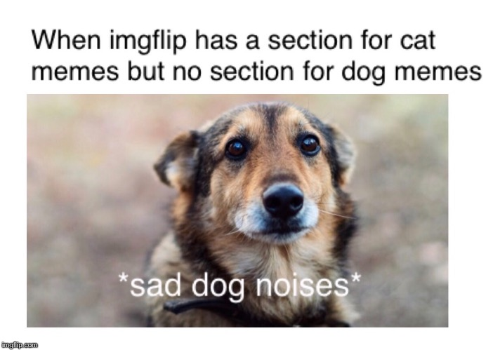 Sad Dog Noises | image tagged in dog,dogs | made w/ Imgflip meme maker