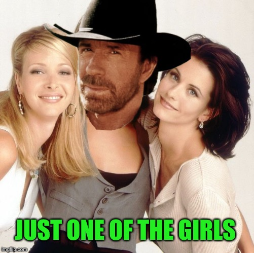 JUST ONE OF THE GIRLS | made w/ Imgflip meme maker
