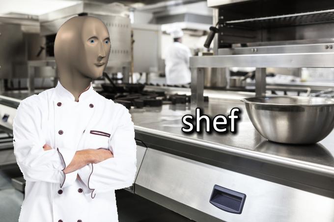 Meme Man Shef Blank Template Imgflip