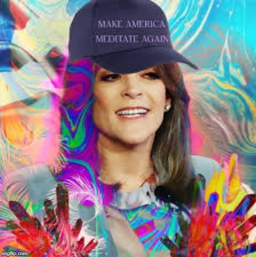 F in the comments for Marianne Williamson's campaign | image tagged in marianne williamson,election 2020 | made w/ Imgflip meme maker