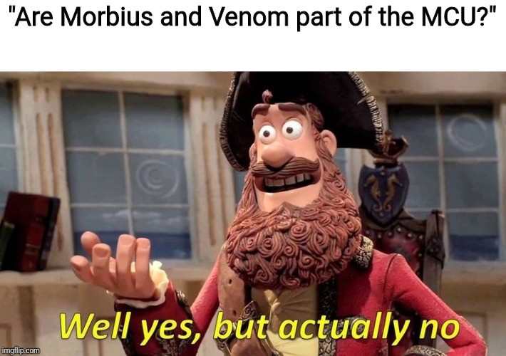 "Anyone seen the ""Morbius"" trailer yet? 
