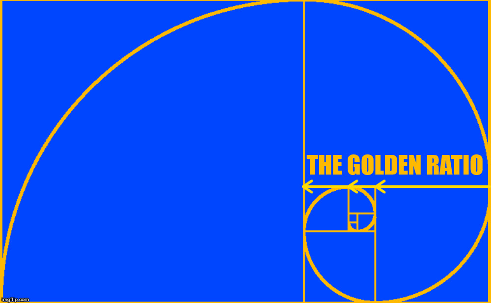 THE GOLDEN RATIO | made w/ Imgflip meme maker
