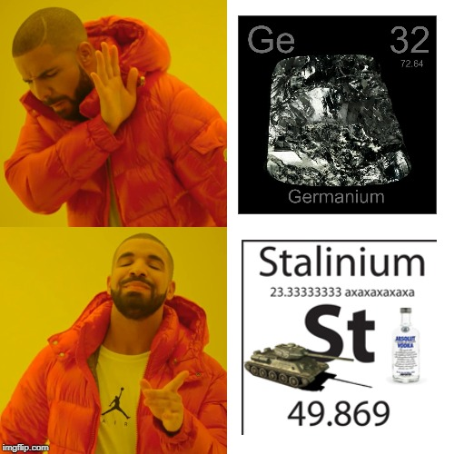 Drake Hotline Bling | image tagged in memes,drake hotline bling,funny,germany,stalin,russia | made w/ Imgflip meme maker