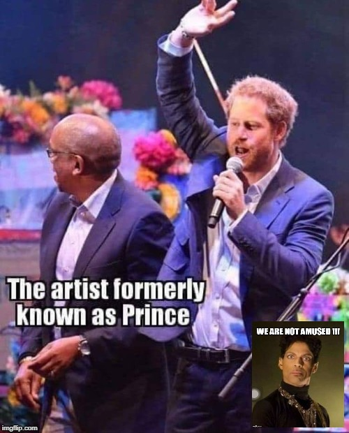 image tagged in prince,prince harry | made w/ Imgflip meme maker