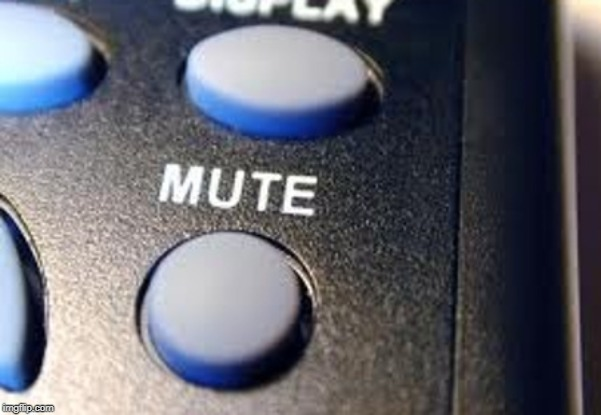 mute button | image tagged in mute button | made w/ Imgflip meme maker