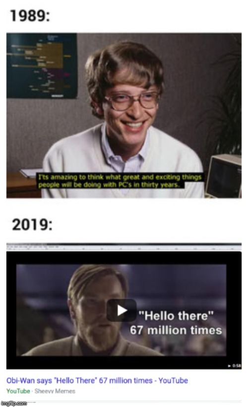 Computers in 30 years | image tagged in starwars,bill gates,funny | made w/ Imgflip meme maker