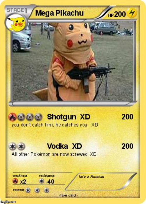 PIKACHU WITH A GUN | image tagged in pikachu with a gun | made w/ Imgflip meme maker