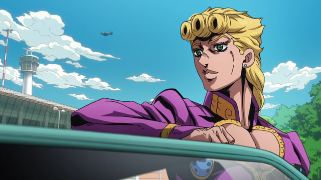 High Quality Giorno Smiling Blank Meme Template