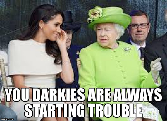 THE EMPIRE STRIKES BACK | image tagged in queen elizabeth,royals,princess | made w/ Imgflip meme maker