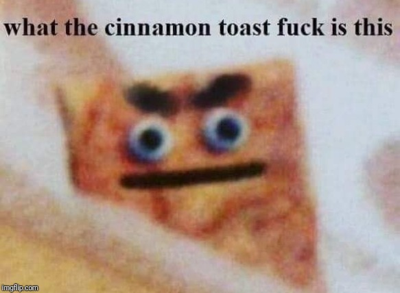 what the cinnamon toast f^%$ is this | image tagged in what the cinnamon toast f is this | made w/ Imgflip meme maker