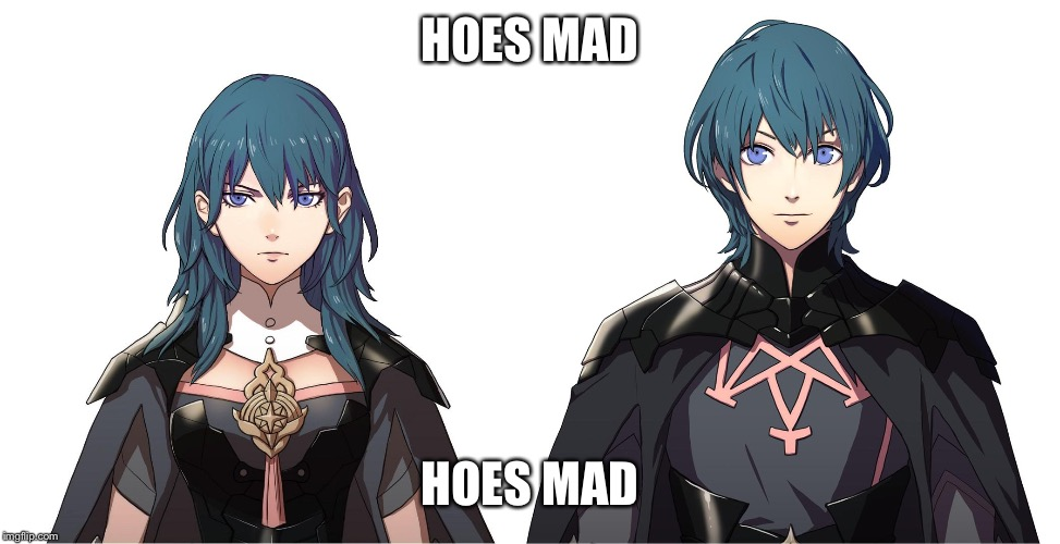 Hoes Mad(this is overused too much) |  HOES MAD; HOES MAD | image tagged in fire emblem,super smash bros,super smash brothers | made w/ Imgflip meme maker