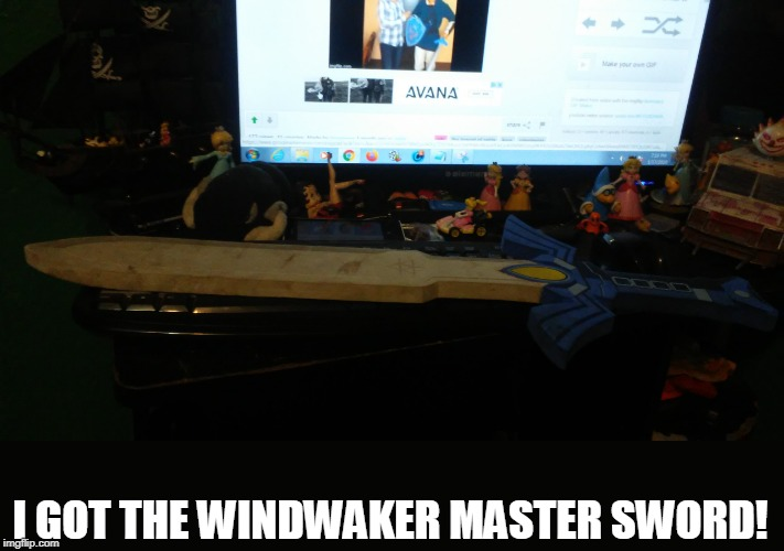 I GOT THE WINDWAKER MASTER SWORD! | made w/ Imgflip meme maker