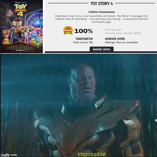 How is this possible... | image tagged in impossible thanos template,me irl,memes,thanos,toy story | made w/ Imgflip meme maker