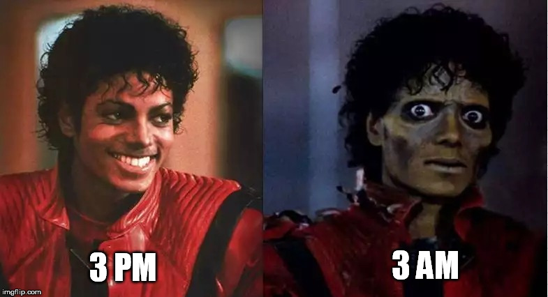 3 PM 3 AM | made w/ Imgflip meme maker