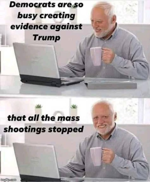 what happened? | image tagged in harold,mass shooting,trump impeachment | made w/ Imgflip meme maker