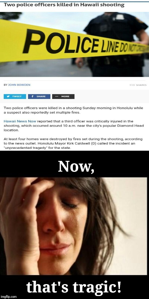 Hawaii shooting | Now, that's tragic! | image tagged in sad girl meme,news,memes,meme,shooting,tragedy | made w/ Imgflip meme maker