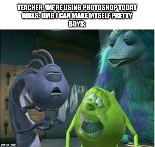 Monsters Inc Memes Gifs Imgflip
