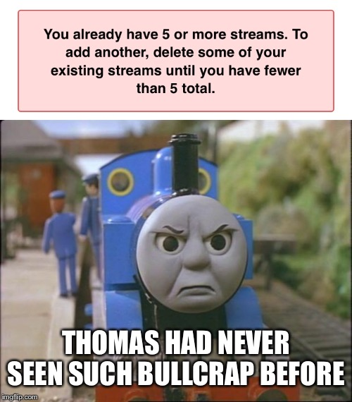 THOMAS HAD NEVER SEEN SUCH BULLCRAP BEFORE | image tagged in thomas the tank engine | made w/ Imgflip meme maker