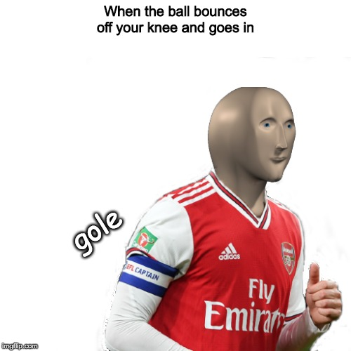 Mr Succer |  When the ball bounces off your knee and goes in; gole | image tagged in soccer,mr succ,lol,memes,funny | made w/ Imgflip meme maker