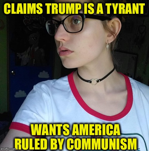 Funny how since 2017 so many on the left like to claim they are patriotic and against tyranny. Only people buying it are them. |  CLAIMS TRUMP IS A TYRANT; WANTS AMERICA RULED BY COMMUNISM | image tagged in facebook leftist,liberal logic,liberal hypocrisy,democrat,democratic party | made w/ Imgflip meme maker