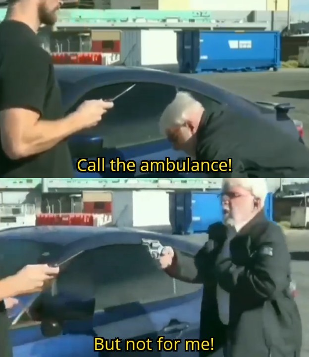 Call An Ambulance But Not For Me Blank Template Imgflip Potentially higher quality, but larger filesize. call an ambulance but not for me blank