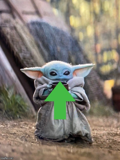image tagged in baby yoda tea | made w/ Imgflip meme maker