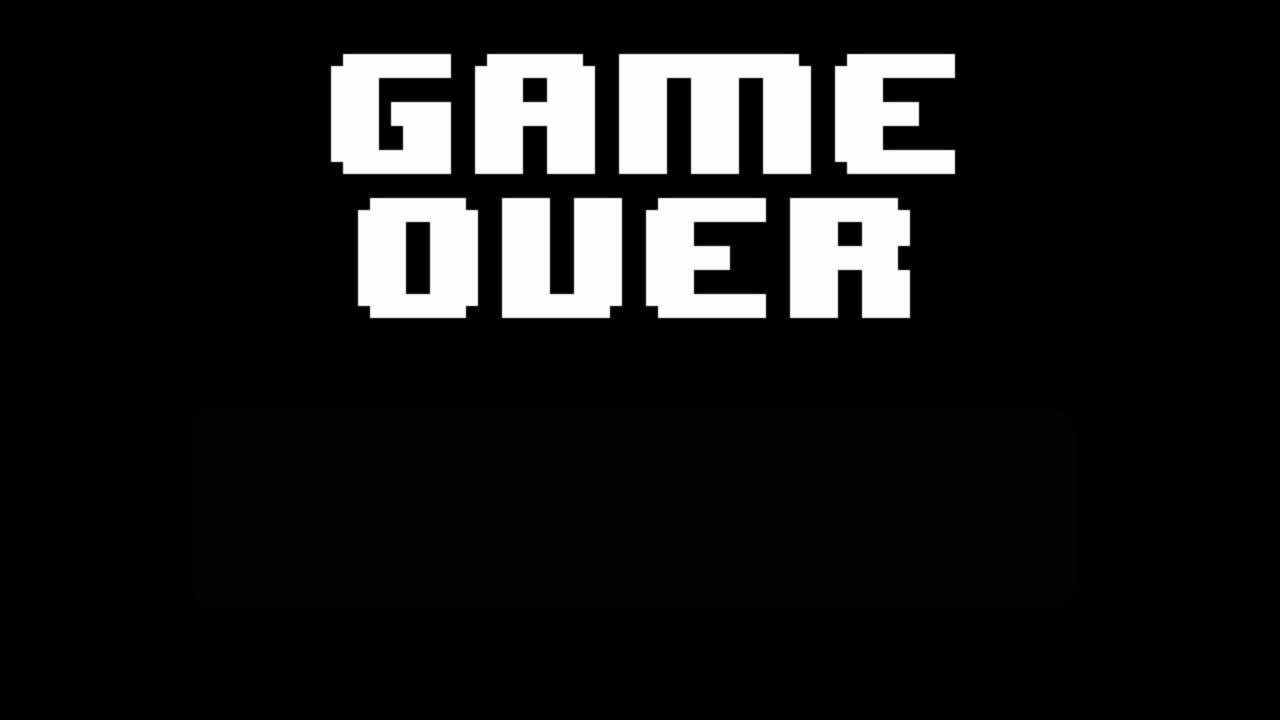 Undertale Game Over Blank Template Imgflip