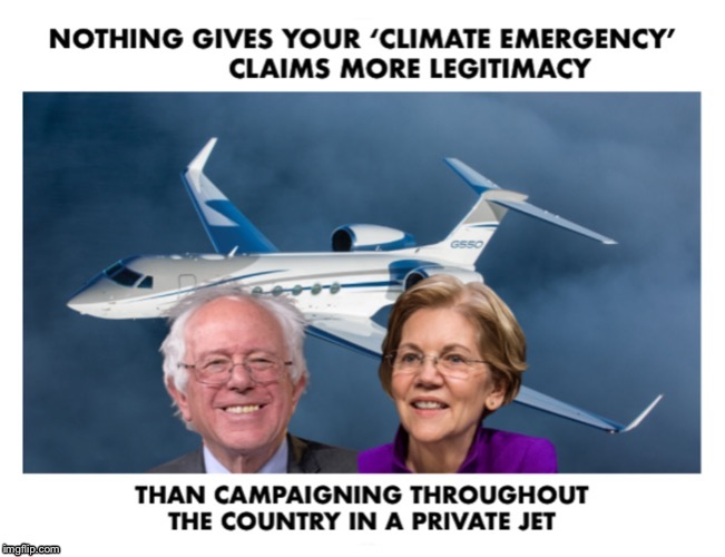 The burdens of The Green New Deal are born by YOU, not them...Silly! | image tagged in bernie sanders,elizabeth warren,pete buttigieg,climate change,hypocrite | made w/ Imgflip meme maker