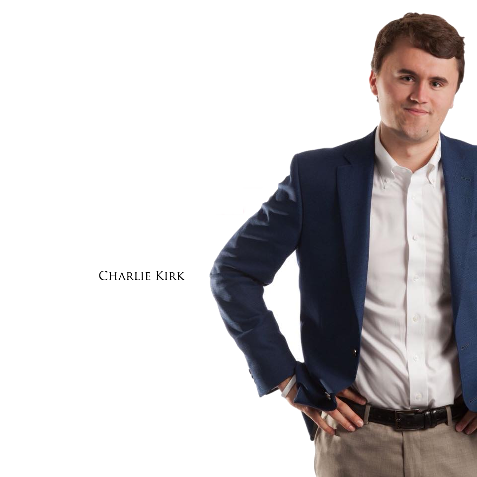 Charlie Kirk Turning Point USA template Blank Template ...