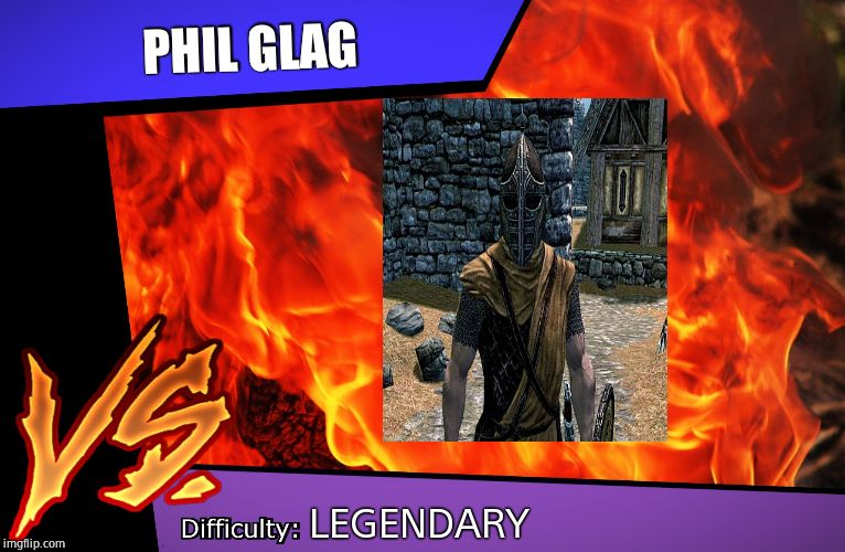 Raid Battle |  PHIL GLAG; LEGENDARY | image tagged in raid battle | made w/ Imgflip meme maker