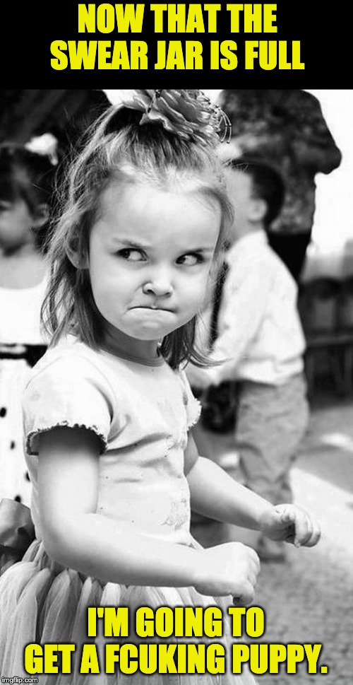cute angry girl - Imgflip