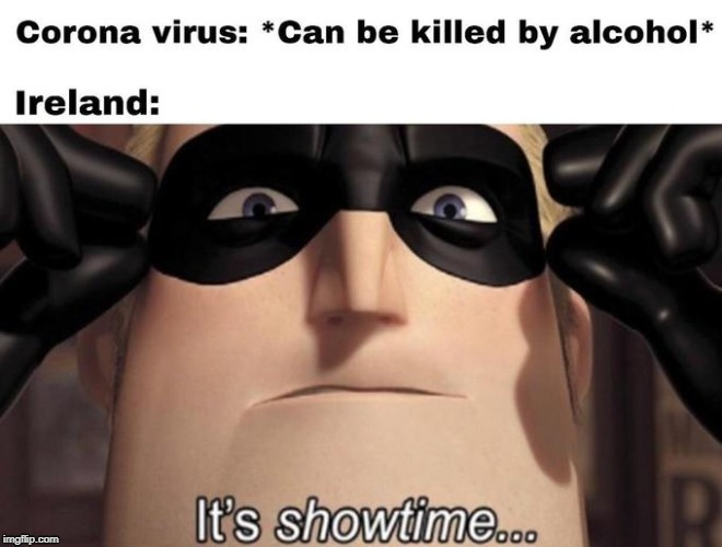 It's showtime | image tagged in the incredibles | made w/ Imgflip meme maker