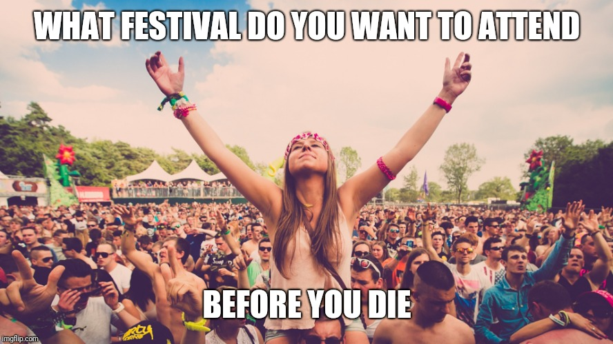 For Thparky, it's Oktoberfest in Munich and the Memphis in May BBQ festival! | WHAT FESTIVAL DO YOU WANT TO ATTEND BEFORE YOU DIE | image tagged in festival,celebrate,go big or go home | made w/ Imgflip meme maker