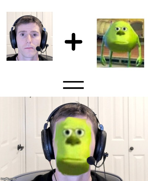 Sad Linus + Sully Wazowski | image tagged in dank memes,funny memes,sully wazowski,meanwhile on imgflip | made w/ Imgflip meme maker